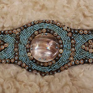 Beautiful Handmade Beaded Belt